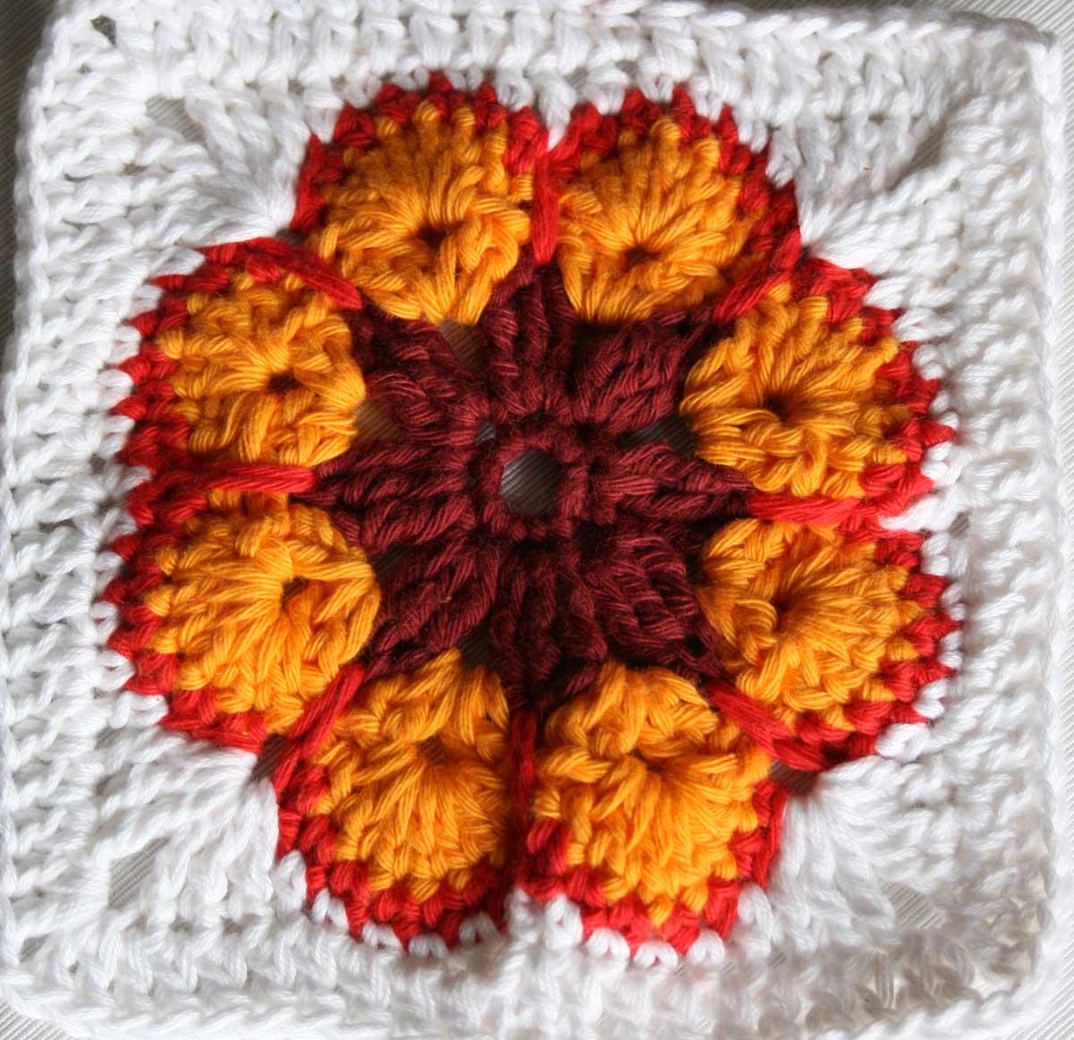 Crochet Granny Square Somalia Pattern : Somalia Granny Square Deutsche Anleitung Babajezas ...