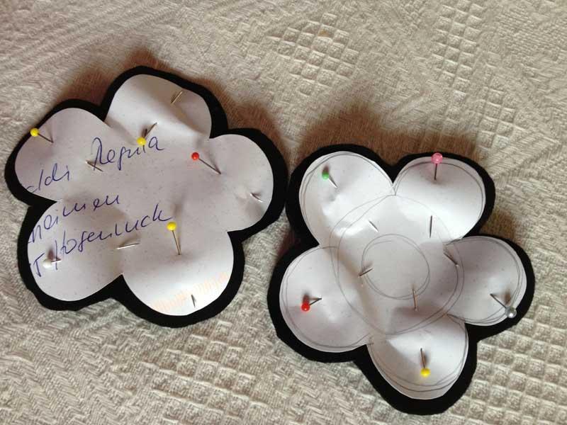 Anleitung zum Blume nähen | Babajezas Wundertüte