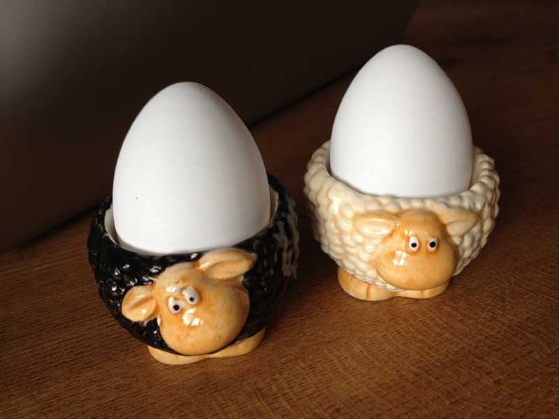 EierbecherSchafe