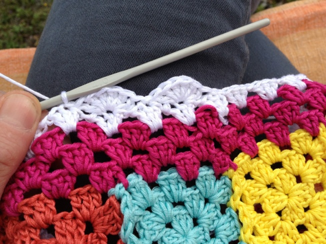 Hippiesweater5.Schritt2