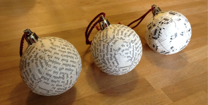 kugel upcycling christmast ball ornament babajezas wundert te. Black Bedroom Furniture Sets. Home Design Ideas