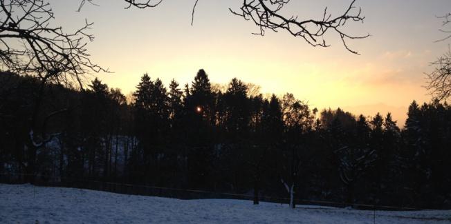 Wintermorgen