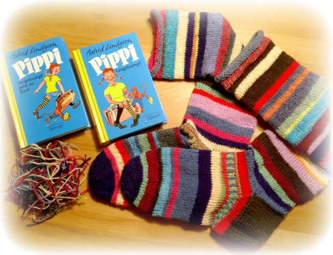 PippiLangstrumpfsocken