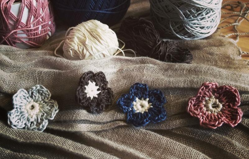 Frühling In Der Luft Blümchen Häkeln Crocheted Flowers