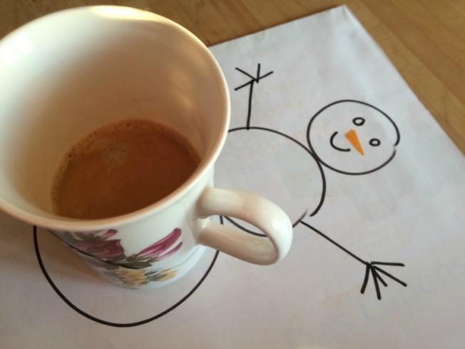 Schneemannkaffee