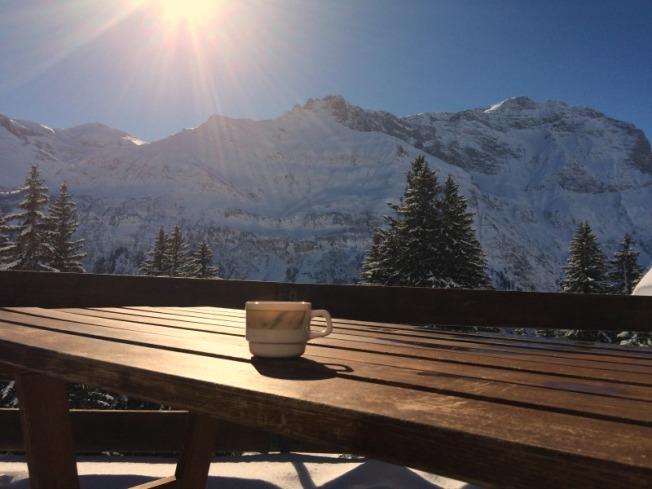 Terrassenkaffee