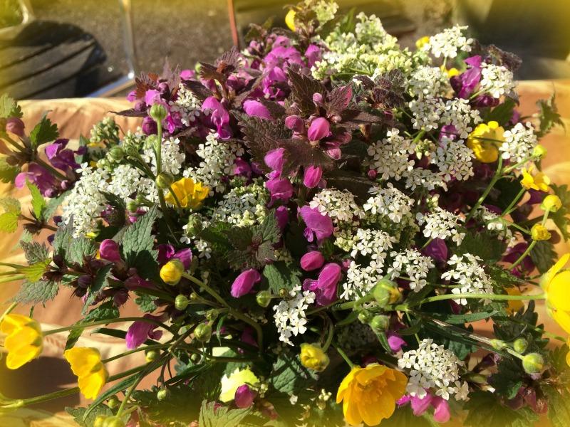Blumenstrauss Babajezas Wundertüte
