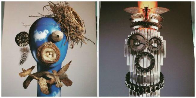 Kopf-Collage
