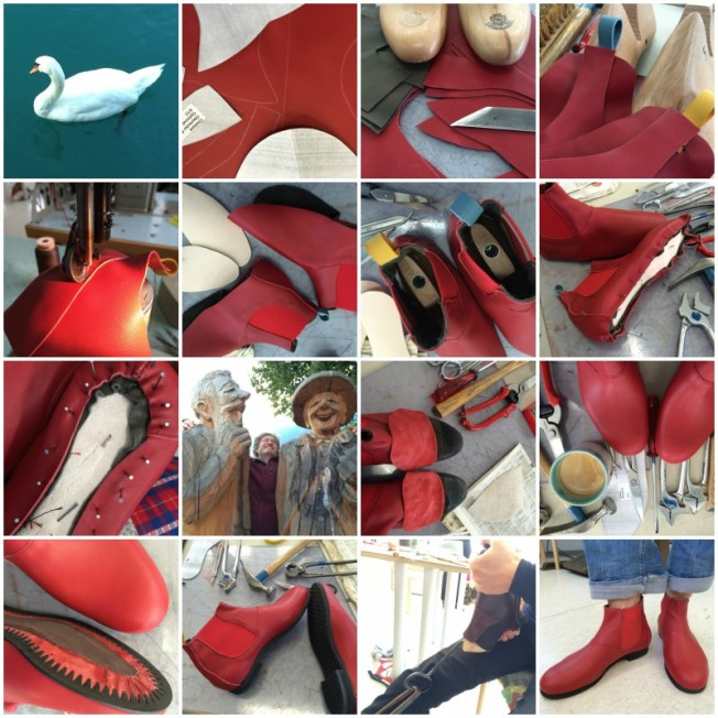 Schuh-Collage