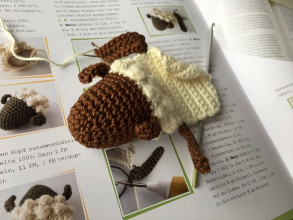 Simple Fox Bookmark crochet pattern by YarnWave | Darmowe wzory ... | 438x584