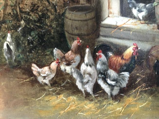 HühnerinÖl