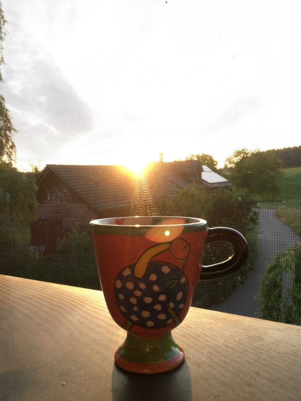 Morgensonnenkaffee
